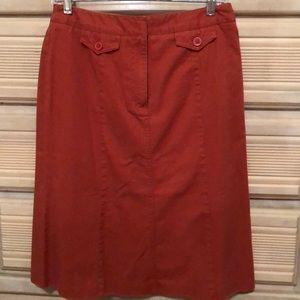 NWT, cotton skirt, size 6